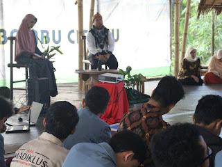 Talkshow pranikah di ECO Bambu Cipaku