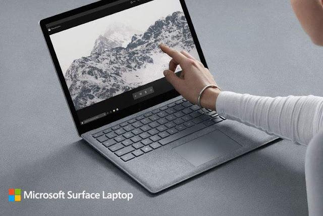 Penantang MacBook, Microsoft Luncurkan Laptop Surface WIndows 10 S