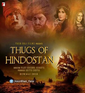 Thugs of Hindostan (2018) 700MB DVDScr Hindi Movie 720p ESubs