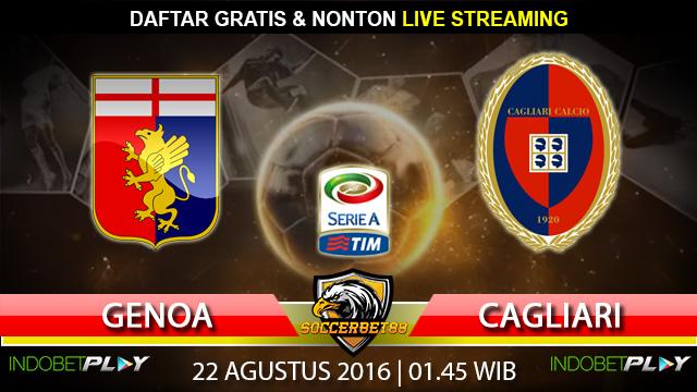 Prediksi Genoa vs Cagliari 22 Agustus 2016 (Liga Italia)