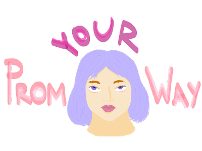 prom, prom your way, simply scribbles