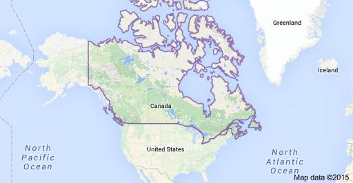 Blogstuff4u: Where is Canada?