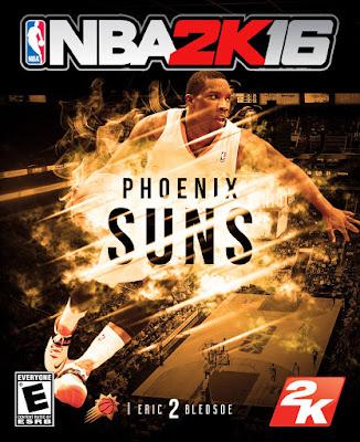NBA 2K16 Custom Covers - Phoenix Suns