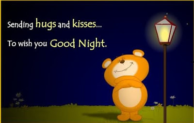 Good Night Wise With Cute Teddy