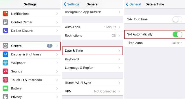 Cara Mengatasi/Memperbaiki IPhone Tidak Dapat Terhubung ke ITunes Store 3