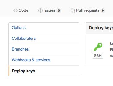 git push with ssh key