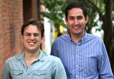 Mike Krieger and Kevin Systrom of Instagram