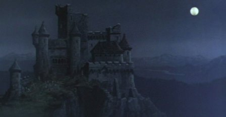 Castle from Hammer's The Vampire Lovers (1970) matte painting