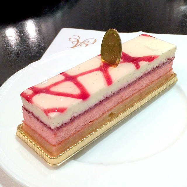 White Chocolate Lychee Cake