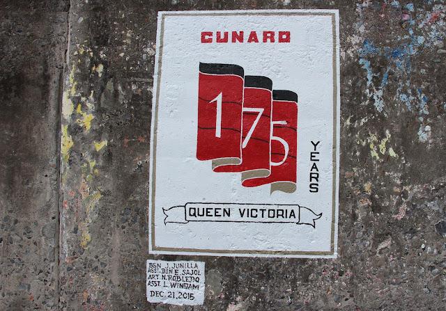 175 years Cunard painting