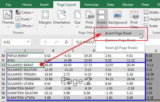 Tutorial Cara Print Di Excel Supaya Tidak Terpotong Rapi