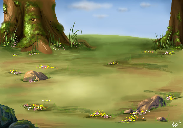 Chasing Muse Concept Art Backgrounds- Draco 'disney