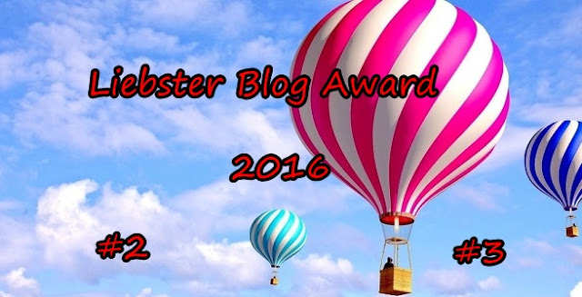 Liebster Blog Award 2O16 #2 , #3