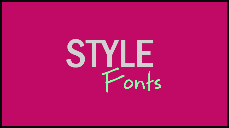 Change Windows 10 Font Style