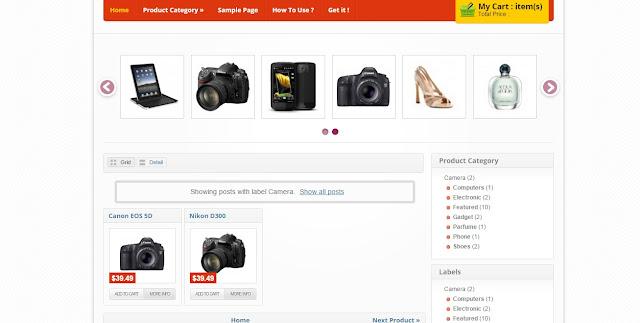 Theme Blogspot bán hàng chuan seo