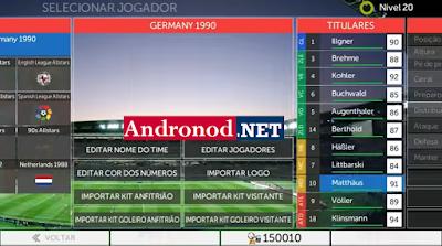 FTS 17 Legends Edition Mod Apk Data For Android (Mega Mod)