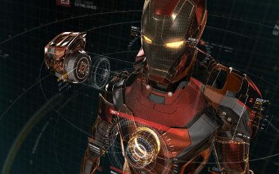 Iron Man Artwork - Fond d'Écran en Quad HD 1440p