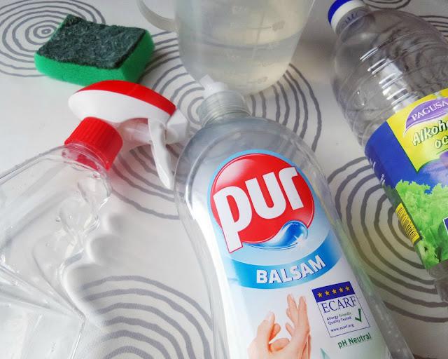Sastojci za izradu DIY sredstava za čišćenje