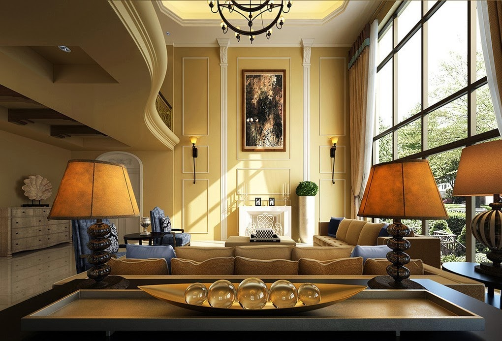 Luxury Living Rooms HD Wallpapers - HDWallpapers360