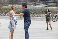 Gregg Sulkin, Ariela Barer and Virginia Gardner in Marvel's Runaways (45)