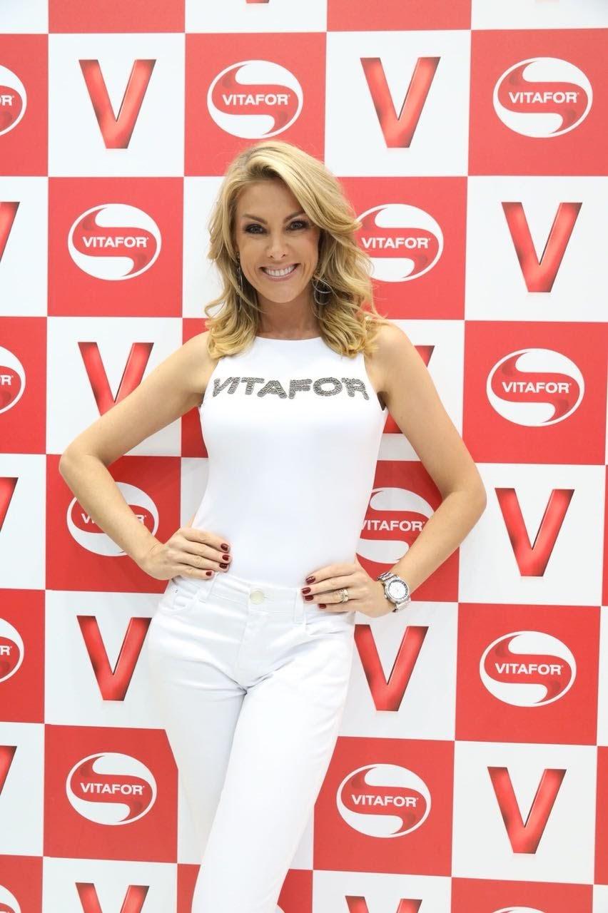 A modelo e apresentadora Ana Hickmann  - Foto: Rodrigo Dod/Savaget