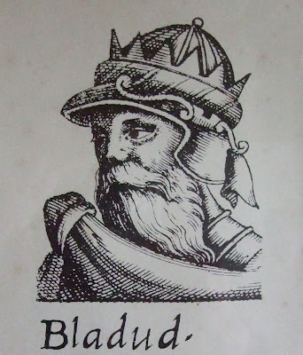 King Bladud of Bath - Ancient Britain's pioneer aeronaut