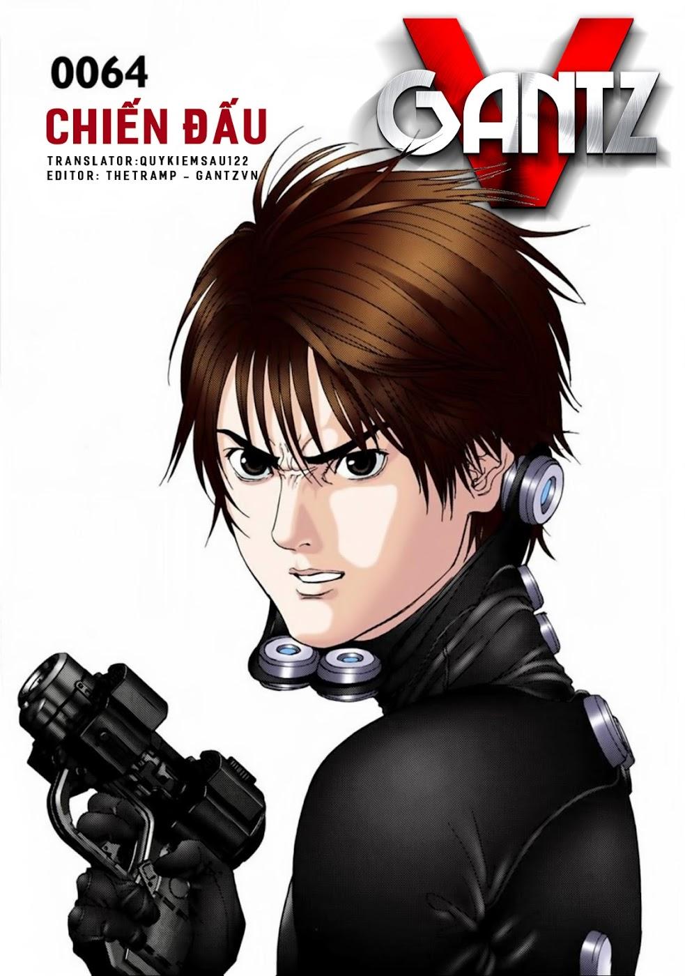 Gantz Chap 64: Chiến đấu trang 1