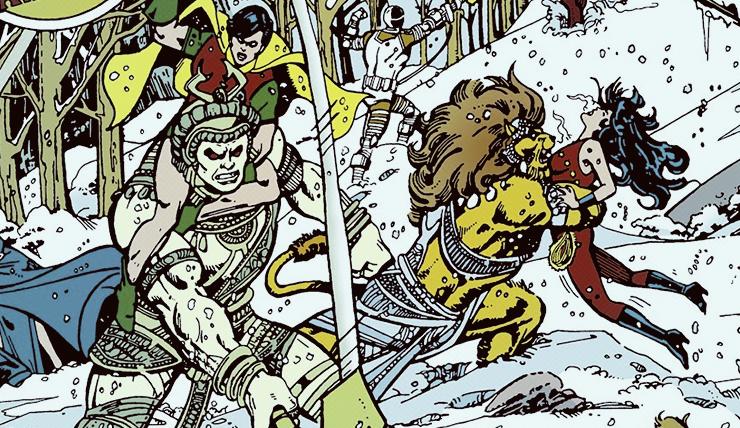 Imagem da HQ Lendas do Universo DC: Os Novos Titãs Vol. 4