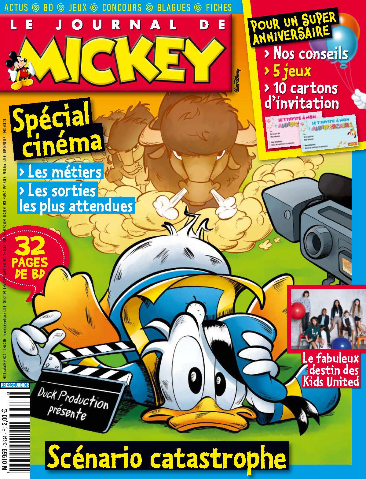 le journal de mickey journal de mickey 3334. Black Bedroom Furniture Sets. Home Design Ideas