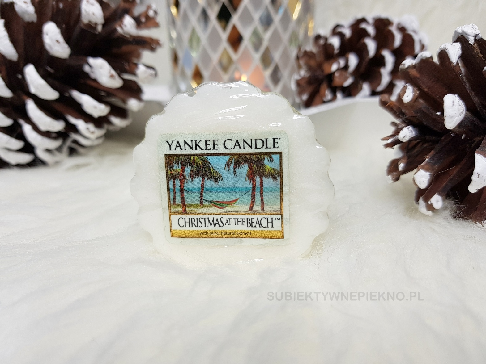 Christmas at the Beach Yankee Candle | Pina Colada. Niedostępny w Polsce zapach Yankee Candle. Blog, opinie.