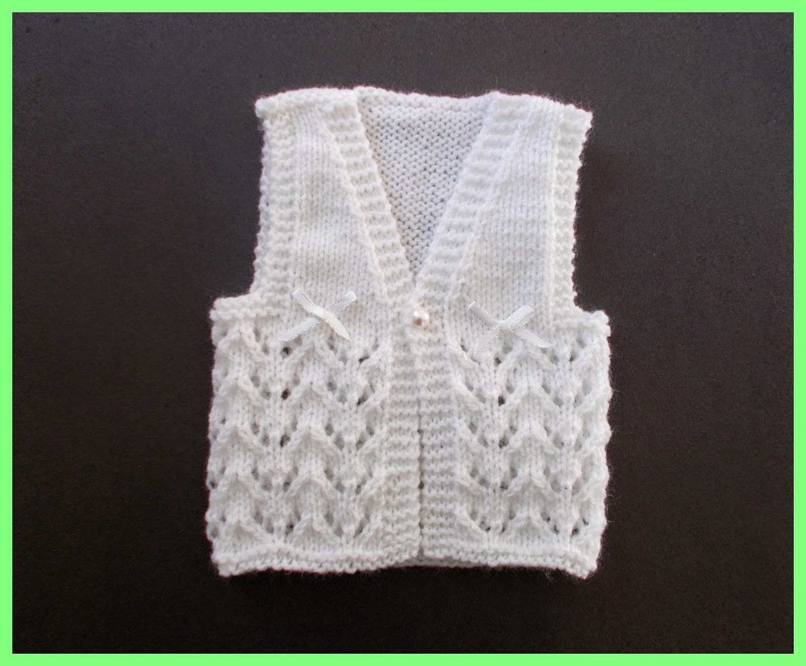 dde81767c Baby Gilet Knitting Pattern Free ~ Ipaa.info for .