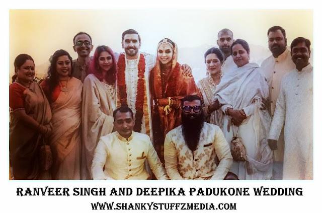 All Wedding Pics Of Ranveer Singh And Deepika Padukone - Italy me Baaraat