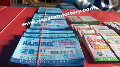 Rajshree Old Result 11am 4pm 8pm Goa State Lottery - Goa