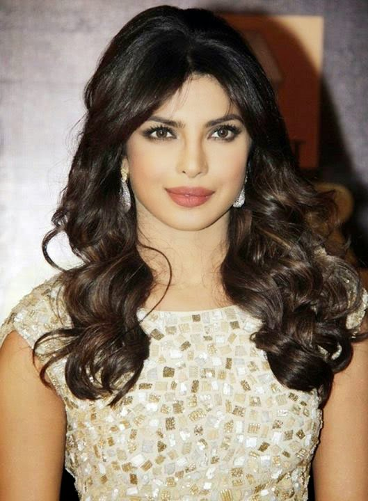 Priyanka Chopra in Glittery Mini-dress Star Guild Awards 2013