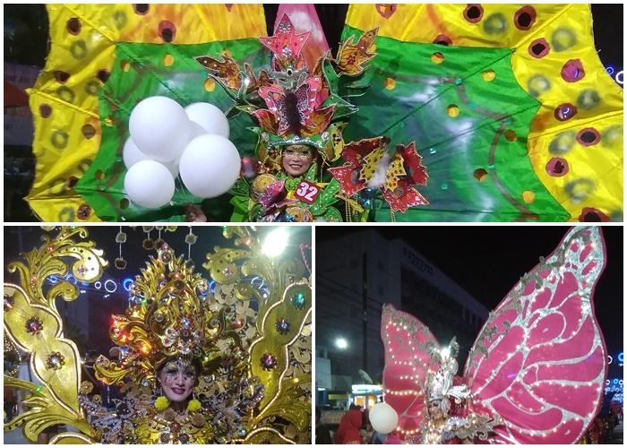 Berjuta Vitamin-Sea di Semarang Night Carnival 2018