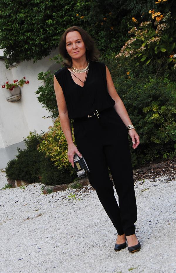 black mango jumpsuit lady of style. Black Bedroom Furniture Sets. Home Design Ideas