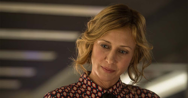 Vera Farmiga commuter movie still