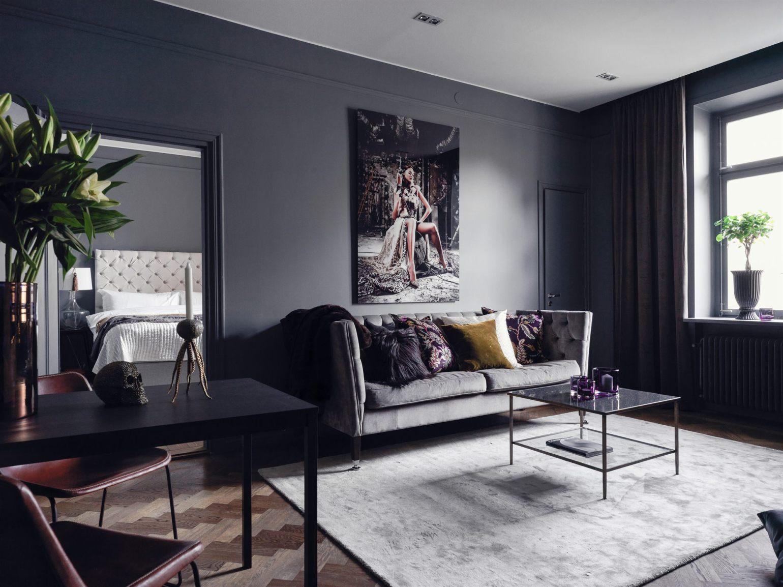Un appartamento sofisticato in Svezia