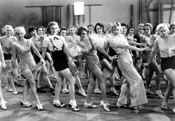 42nd Street 1932 movieloversreviews.filminspector.com chorus girls