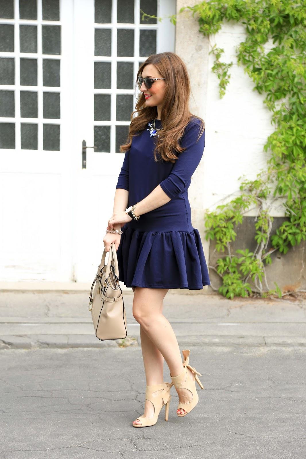 Peplum Kleid - Schößchenkleid Blogger - Fashionstylebyjohanna - Zara Heels