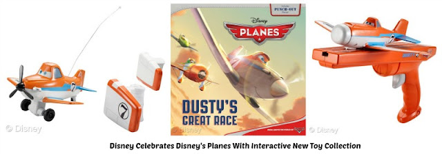 Exciting product collection inspired by Disneytoon Studios' newest high-flying adventure, Disney's Planes