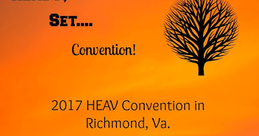 Ready, Set....Convention! (And a Giveaway!)