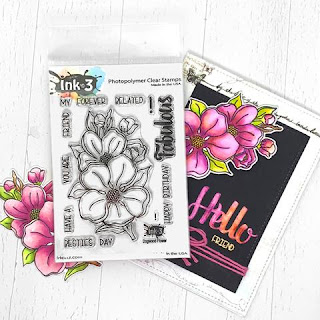 Dogwood Flower Stamp Set