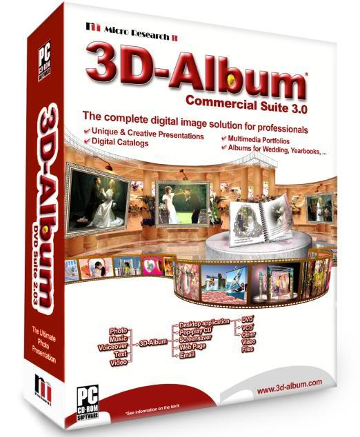 3d album commercial suite free download.