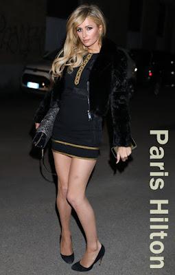 パリス・ヒルトン(Paris Hilton)はアライア (Alaia)のパンプス を着用。