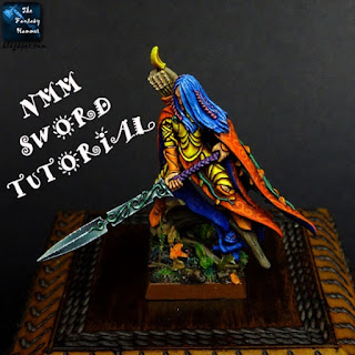 Painting Non Metallic Metal Sword Tutorial