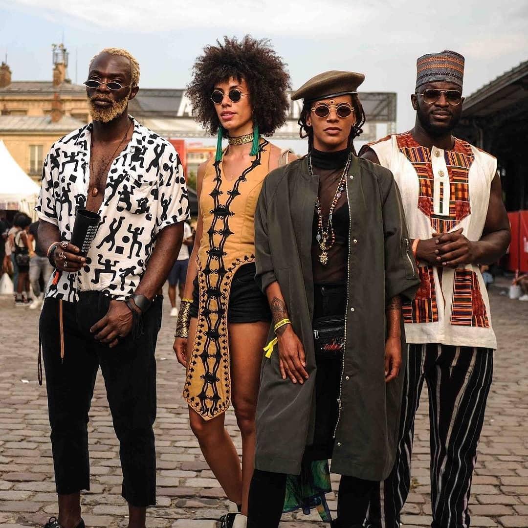 Afro Punk Fashion: STREET STYLE :AFROPUNK 2018