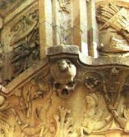 Rana en la fachada de la Universidad de Salamanca