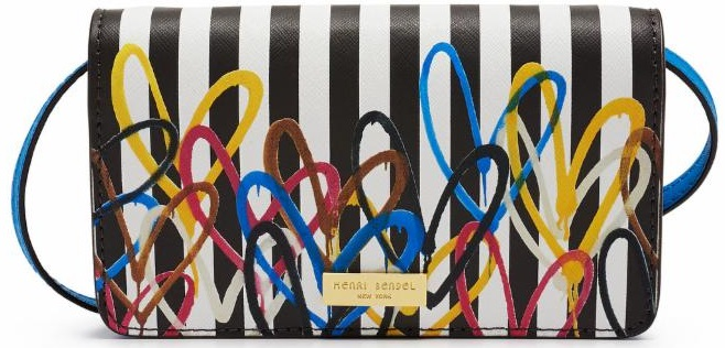 Love Stripe Smartphone Crossbody