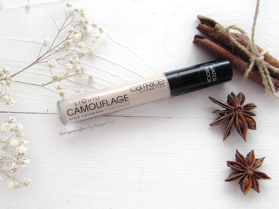 Знаменитый консилер Liquid Camouflage от Catrice / блог A Piece of beauty